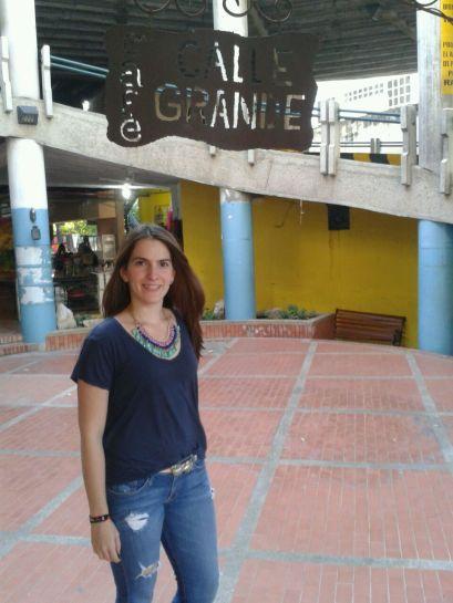 En el centro artesanal Calle Grande