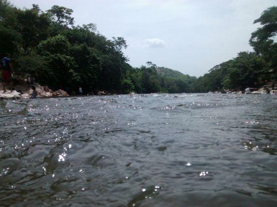 Río Guatapurí, en Valledupar